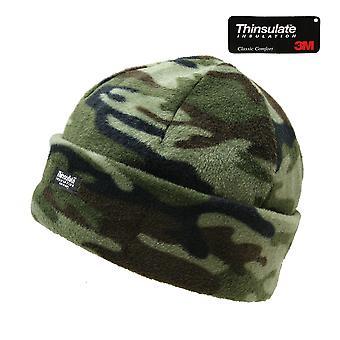 Guarda il nuovo Thinsulate Bob pile cappello militare Cap