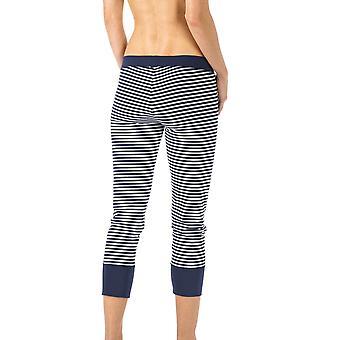 Mey Night2Day nuit couleur unie bleu pyjama 3/4 longueur Pyjama féminines 16821-408 Pant