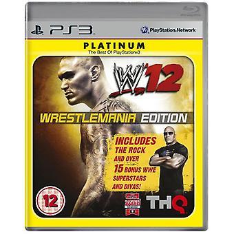 WWE 12 WrestleMania Edition (PS3)-nyt