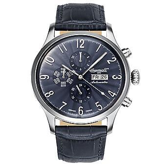 Ingersoll men's watch wristwatch automatic Fairbanks IN1416BL