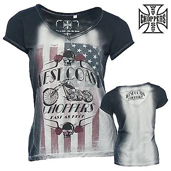 West Coast choppers ladies T-Shirt almost as Stern tea