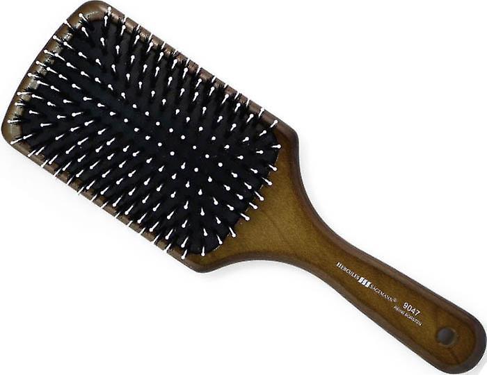 Hercules Sagemann Bristle Paddle Hair Brush Walnut Wood