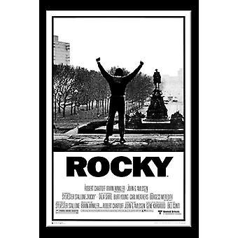 Rocky Movie Score Poster Print