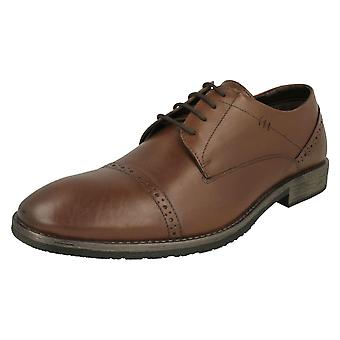 Mens Hush Puppies Smart Lace Up Shoe Craig Luganda
