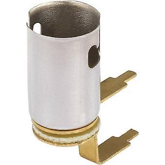 Suporte de lâmpada soquete (mini lâmpadas): Conexão BA9s: solda talão 1 computador (es)