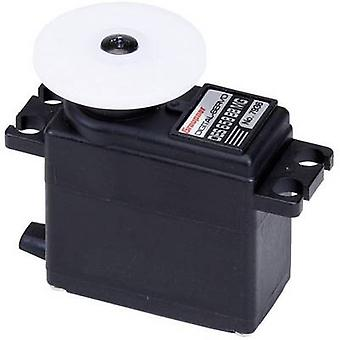Graupner Midi servo DES 658 BB, MG Digital servo Gear box material: Metal Connector system: JR