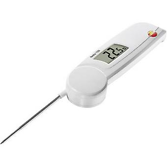 testo 103 Probe thermometer (HACCP) Temperature reading range -30 up to 220 °C Sensor type NTC Complies with HACCP standards