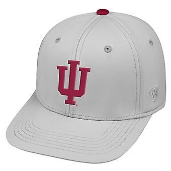 Indiana Hoosiers NCAA TOW impacto cinza esticar chapéu cabido