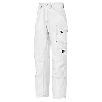 Snickers Painters Trousers with Kneepad Pockets. Cotton.OFFICIAL UK DEALER-3375