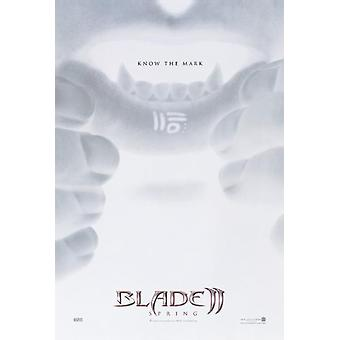 Blade II advance poster
