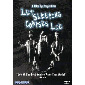 Let Sleeping Corpses Lie [DVD] USA import