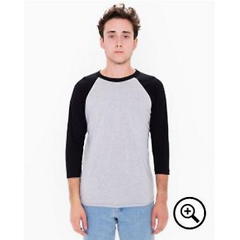 American Apparel miesten 3/4 hiha Raglan t-paita