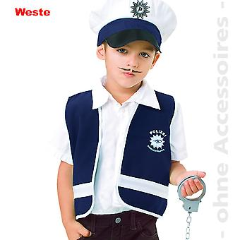 Ofițer de poliție costum de securitate Garda de poliție costum copii vesta copii costum