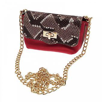 Cats Women's Small Leather Shoulder Handbag