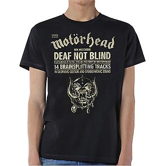 Motorhead Deaf Not Blind T-Shirt