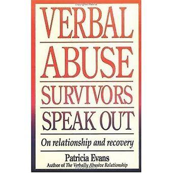 Verbaal geweld overlevenden uitspreken over relatie en herstel door Patr