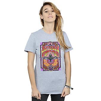 Jefferson Airplane Women's Live konsertti poikaystävä Fit t-paita