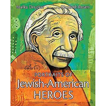 Porträts der jüdisch-amerikanischen Helden
