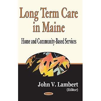 Cuidados no Maine a longo prazo: Home e serviços baseados na Comunidade