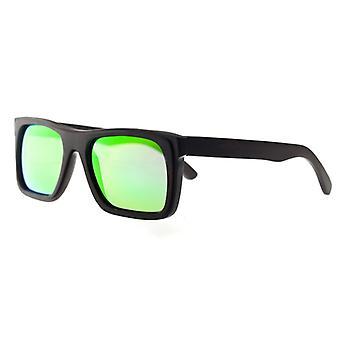 Earth Wood Ona Polarized Sunglasses - Espresso/Green