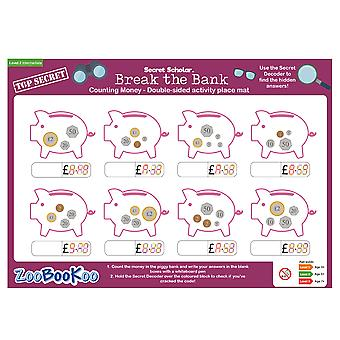 ZooBooKoo Educational Secret Scholar Break the Bank (Level 2)
