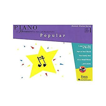 Faber Piano Adventures - Student Choice Series: Popular Level 1