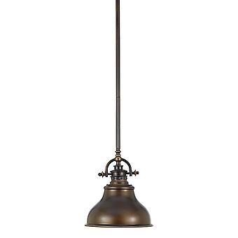Emery Palladian - Mini brązu wisiorek, Elstead Lighting Qz / Emery / P / S PN