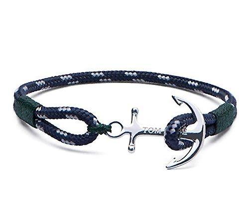 Tom Hope Sterling Silver Southern Green Bracelet Small TM0101