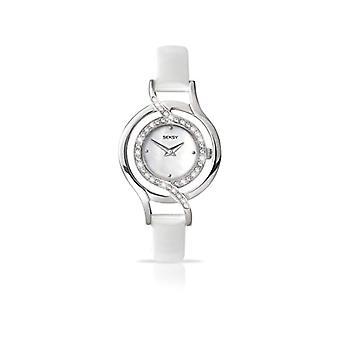 Seksy wrist watch, analog, female, Skin, white (2)