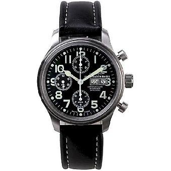 Zeno-montre mens montre de nouveau classique pilote chronographe-date 9557TVDD-a1