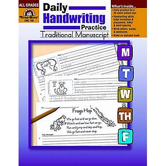 Daily Handwriting Practice - Traditional Manuscript by Jill Norris -