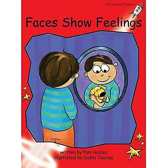 Faces Show Feelings by Pam Holden - Sasha Tsevina - 9781776540037 Book