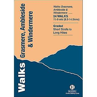 Walks Grasmere - Ambleside and Windermere by Richard Hallewell - Rebe