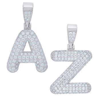 Premium 925 Ayar Gümüş Harfli Kolye Mini