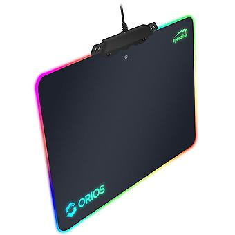 SPEEDLINK orios RGB Gaming tapis de souris-noir (SL-620100-BK)