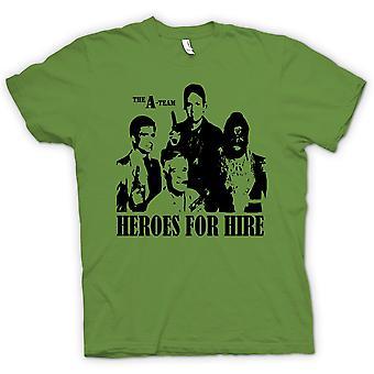 Kids T-shirt - A Team Heroes - Retro - Movie 0s - Tv