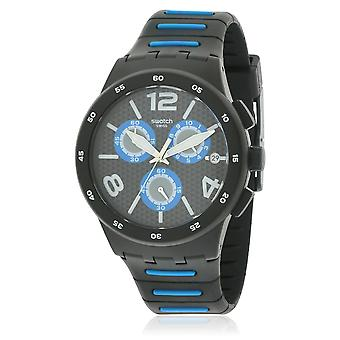 Staal zwart SPY Mens Watch SUSB410