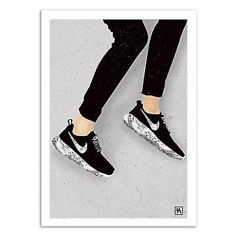 Kunst-poster-Niki-Andriana chunis 50 x 70 cm