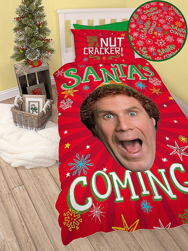 Buddy The Elf Santa Single Duvet Cover Set