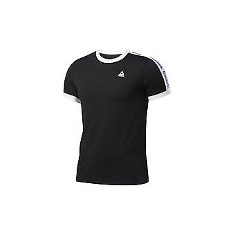 Reebok Training Essentials Lineaarinen Logo Tee FI1933 koulutus kesä miesten t-paita