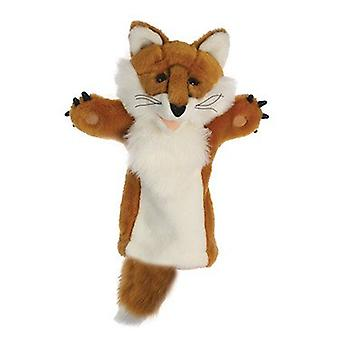 Hand Puppet - Long-Sleeved Glove - Fox Soft Doll Plush PC006013
