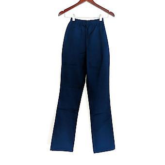 Denim & Co. Leggings TXXS Stretch Tall Boot Cut Blue A01725 PTC