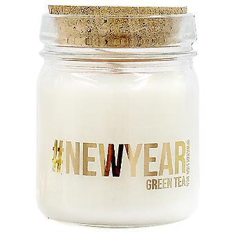 Wellindal Aromatic candle green tea #Newyear