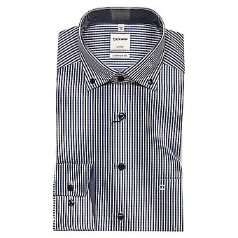 OLYMP Olymp Blue Shirt 1028 18