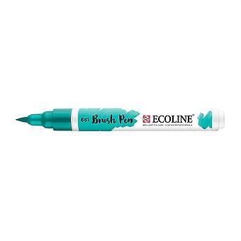 Talens Ecoline Liquid Watercolour Brush Pen - 661 Turquoise Green