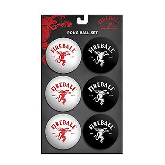 Fireball Whisky Beer Pong Balls
