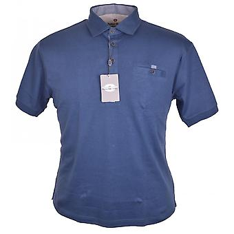 PETER GRIBBY Peter Gribby Plain Soft Knit Polo