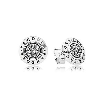Pandora Silver Women's Stud Earrings - 290559CZ