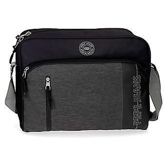 Pepe Jeans Ason Backpack 39 centimeters 13.3 Black (Negro)