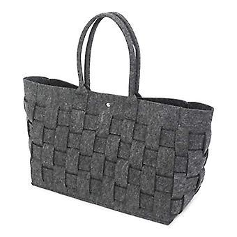 Felt - Braided Anthracite backpack - 57 cm - 33 l - color: Black
